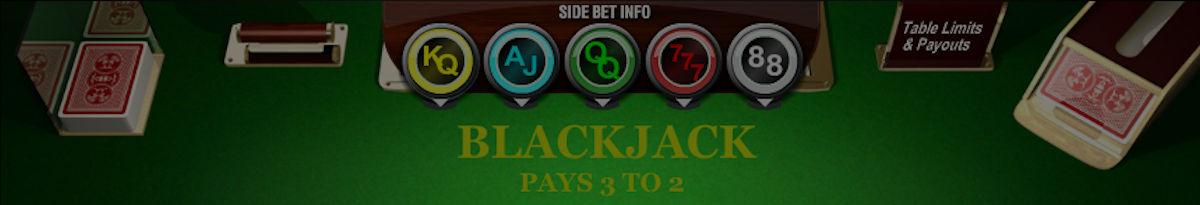 Blackjack med sidospel